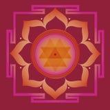 Fjädra yantraen för vård- och wellbeing Royaltyfri Fotografi