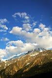 Fjällängar Chamonix Arkivfoton
