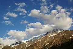 Fjällängar Chamonix Royaltyfri Foto