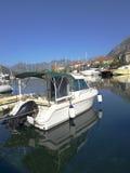Fjärd av Kotor i nedgången Royaltyfri Fotografi