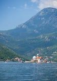 Fjärd av Kotor, Montenegro royaltyfri foto