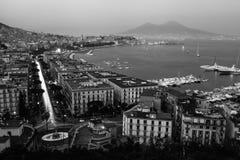Fjärd av Naples Arkivfoto