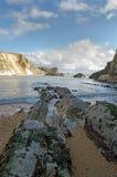 Fjärd för mannolla-krig, Dorset, England Arkivbilder