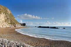 Fjärd för mannolla-krig, Dorset, England Arkivbild