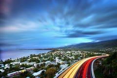 Fjärd för St Pauls på Reunion Island royaltyfria bilder