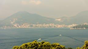 Fjärd i Budva, Montenegro Arkivfoton