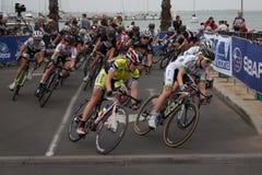 Fjärd som cyklar klassikern - Geelong Royaltyfri Bild