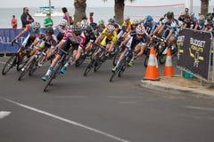 Fjärd som cyklar klassiska Geelong - Australien Royaltyfria Foton