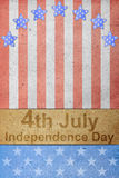 fjärde självständighet juli för dag Royaltyfria Bilder