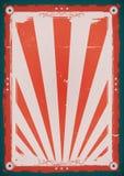 Fjärdedel av affischen för Juli tappningbakgrund Arkivbilder