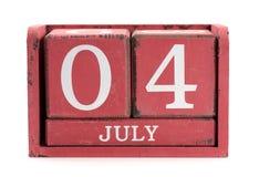 Fjärdedel av Juli Arkivbilder