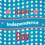 Fjärdedelen av Juli, amerikansk självständighetsdagen Vektor Illustrationer