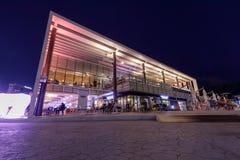 Fjärden 101, som är ett kultur- och konstkomplex i Haeundae område, Busan stad Arkivbilder