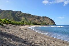 fjärdhalawa hawaii molokai arkivfoto