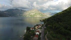 fjärdkotor montenegro arkivfilmer