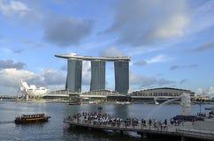 fjärdmarina singapore Arkivfoton