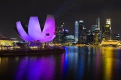 fjärdmarina singapore Arkivbild