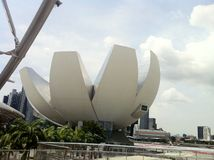 fjärdmarina singapore Royaltyfri Fotografi