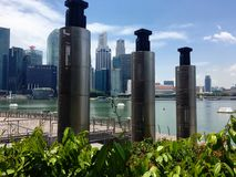 fjärdmarina singapore Royaltyfria Bilder