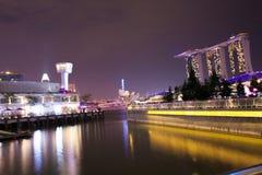 fjärdmarinaen sands singapore Royaltyfria Foton
