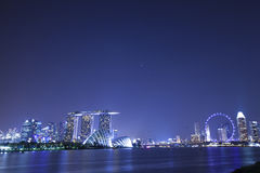 fjärdmarinaen sands singapore Royaltyfria Bilder