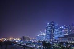 fjärdmarinaen sands singapore Royaltyfri Fotografi