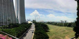 fjärdmarinasand singapore Arkivfoto