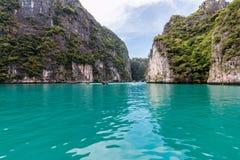 fjärdstrandmaya thailand Royaltyfria Foton