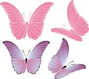 fjäril royaltyfri illustrationer