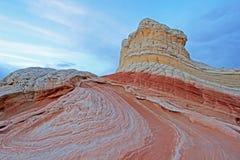 Fjäril ett vaggabildande på vitfacket, prärievargButtes södra CBS, Vermillion klippor vildmark, Arizona för Paria kanjon Fotografering för Bildbyråer