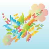 Fjärilsbakgrund Royaltyfri Foto