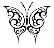 Fjärilsbakgrund Royaltyfri Fotografi