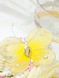 fjärilsberöm Royaltyfri Bild