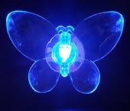 Fjärilsblått Arkivfoto
