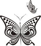 fjärilsinfall Arkivfoto