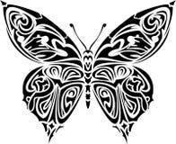 fjärilstatuering Royaltyfria Bilder