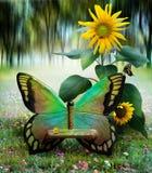 fjärilsträdgård Royaltyfri Bild