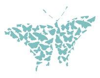 fjärilsvektor Arkivbilder