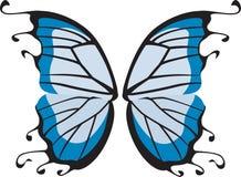 fjärilsvingar royaltyfri illustrationer
