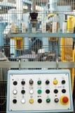 Fjärrkontroll av maskinen, närbild Royaltyfri Foto