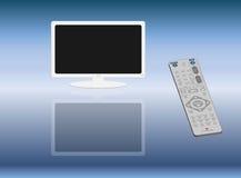 fjärrskärm för kontrollbildskärm wide Arkivbild