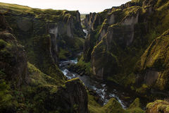Fjaðrà ¡ rgljúfur Στοκ εικόνα με δικαίωμα ελεύθερης χρήσης