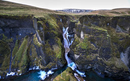 Fjadrargljufur jar, Iceland Obrazy Royalty Free