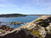 Fjaellbacka-Hafen Stockbild