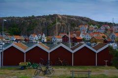 Fjallbacka Σουηδία Στοκ φωτογραφία με δικαίωμα ελεύθερης χρήσης