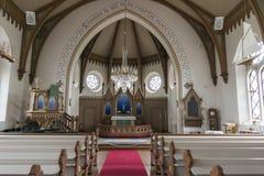 Fjallbacka church Royalty Free Stock Photography