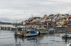 Fjallbacka village in sweden Royalty Free Stock Images