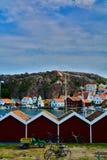 Fjallbacka Zweden Stock Foto's