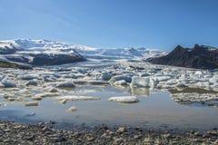 Fjallsárlón Glacier Lagoon Royalty Free Stock Image