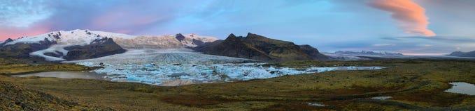 Fjallsarlon Glacial Lagoon Stock Images